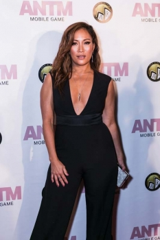 Carrie Ann Inaba at the ANTM Video Game Launch