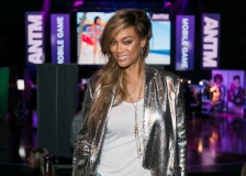 Tyra Banks hosts the ANTM Video Game Launch