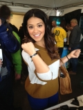 Gina Rodrigues wears the Equality bracelet