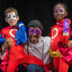 Nick Cannon at the Superheroes for Kids PSA Shoot