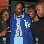 Snoop Dogg, Edwin Hodge & Aldis Hodge