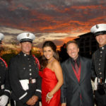 Event-Co-Chairs-Mindy-&-Glenn-Stearns-with-the-Orange-County-Color-Guard---Mark-Sullivan-Getty-Images