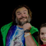Jack Black at the Superheroes for Kids PSA