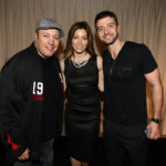 Kevin James, Jessica Biel, and Justin Timberlake at the Make a Difference Network Holiday Party